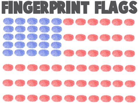 4th of july crafts for ideas for arts amp crafts 330 | fingerprint flags