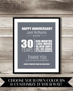work anniversary cards