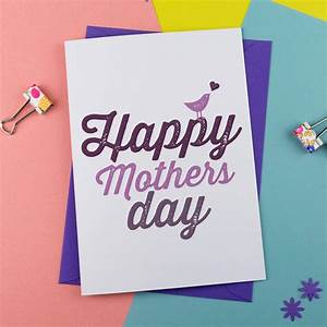 happy mother's day card by a is for alphabet ...