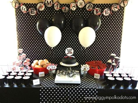 birthday party black red gray images