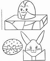 Easter Coloring Egg Eggs Cut Printable Baskets Sheet Sheets Cutout Kid Outs Honkingdonkey Hard Holiday Printing sketch template