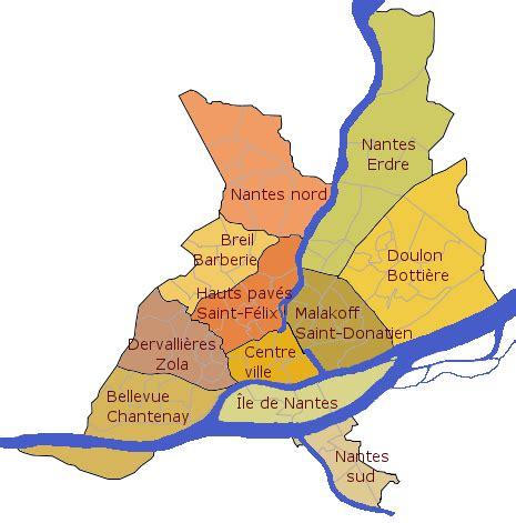 liste des quartiers de nantes wikip 233 dia