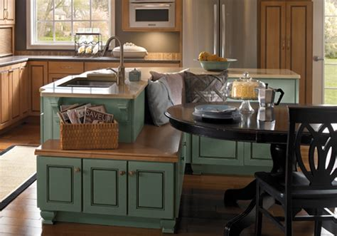 kitchen islands seating island cabinets kabco kitchens