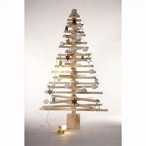 Arbre De Noel En Bois : grand arbre de noel en bois d co 160 cm raumgestalt ~ Farleysfitness.com Idées de Décoration