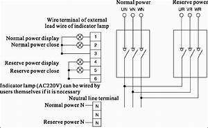 Changeover Switch Wiring Diagram Generator