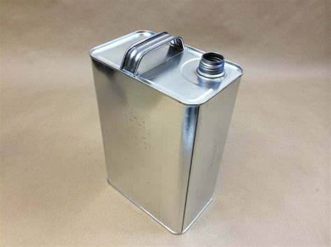 Gallon Un F Style Tin Can With Beta Opening