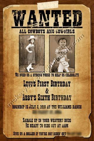 printable wanted poster wanted poster invitations