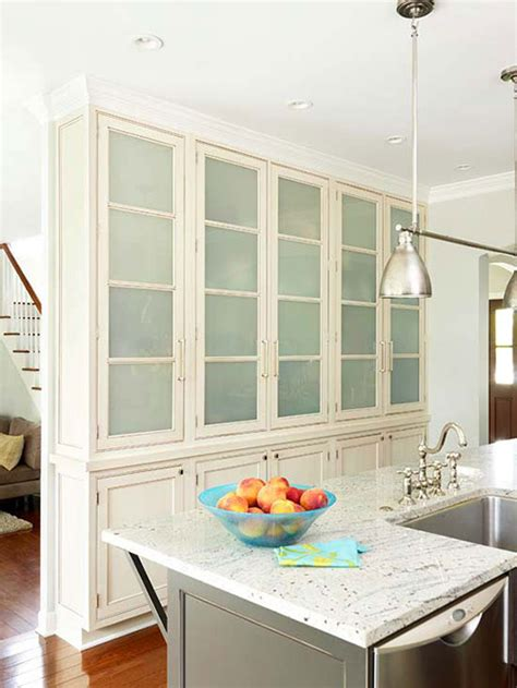 frosted glass kitchen cabinets 10 frosted glass kitchen cabinets make simple design 3661