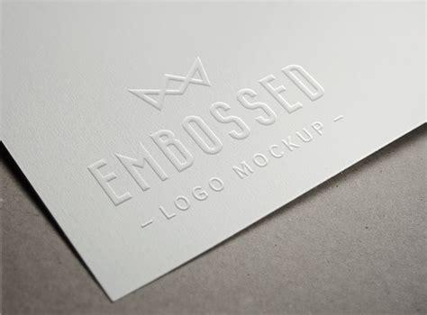 Embossed Paper Logo Mockup Nursery Business Card Ideas Holder Rolodex Examples Pinterest Standard Size Pixels Scanner App Export To Excel Photoshop Electrical Sri Lanka