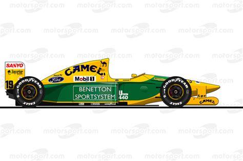 Veja Desenhos Dos Carros Pilotados Por Schumacher Na F1