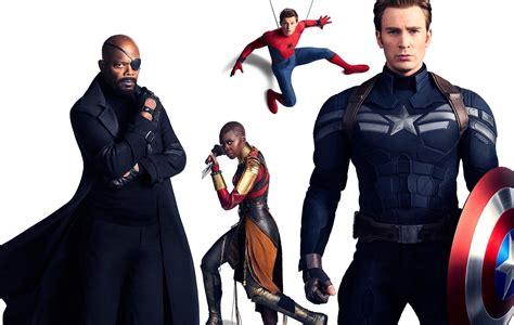 avengers infinity war captain america spiderman nick