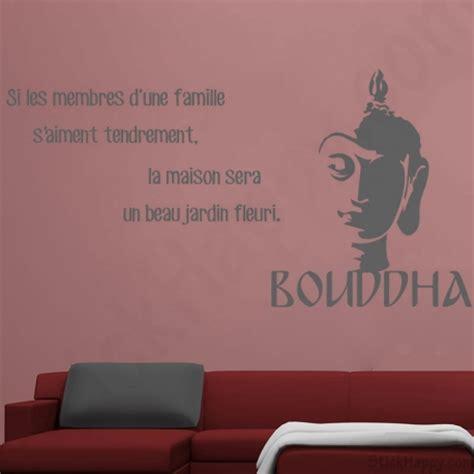 chambre beb décoration bouddha bouddhisme stickers citations pour