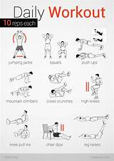 Daily Exercise Routine To Lose Weight At Home Pictures