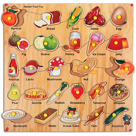 abc cuisines food alphabet board abc food alphabet