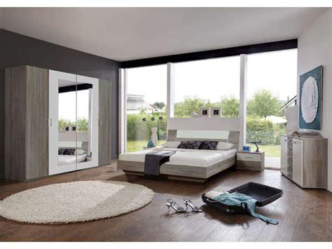 photos de chambre chambre complète ginny coloris chêne montana et blanc