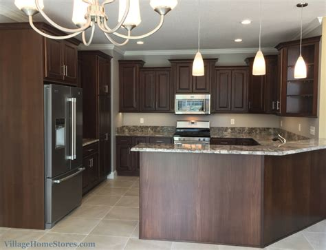 kitchen  ganache granite counters villagehomestorescom