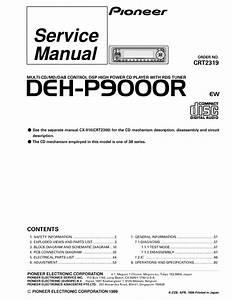 Pioneer Deh P9000r
