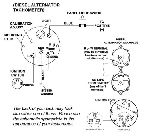 Diesel Tach Wiring by Troubleshooting Teleflex Tachometer Gauges