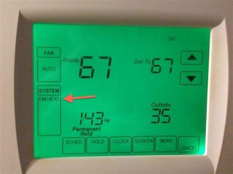How Not Use Your Heat Pump Thermostat