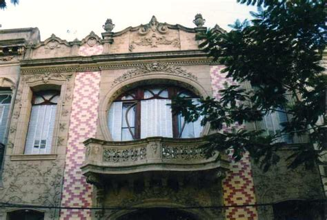 El Art Nouveau En Rosario  Arquitectura De Calle