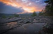 Sunset Rock, Highlands NC - Digital Photo Magazine