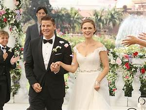 Bones's Booth and Brennan Get Married: PHOTO - Bones ...