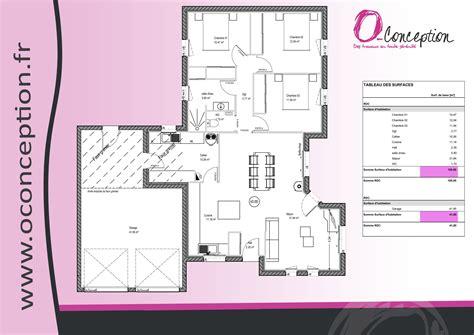 plan de maison 3 chambres plain pied plan maison plain pied en l avec garage
