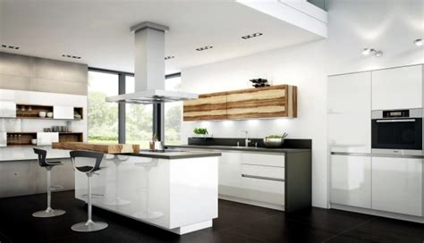 Small Kitchen Color Ideas Pictures - modern high gloss kitchen in white 20 dream kitchens with high gloss fronts interior design