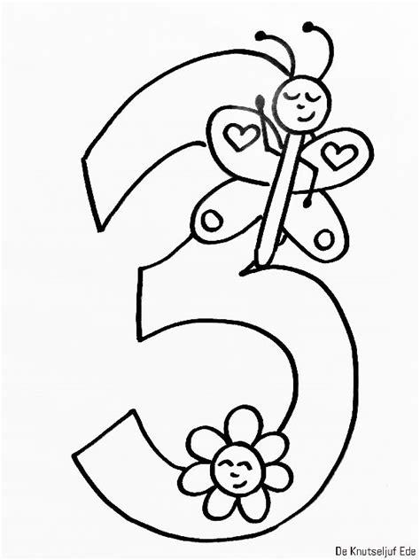 Kleurplaten Voor 11 Jarige by Kleurplaten Jarige Cijfers Verjaardag 1 T M 10
