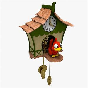 max cartoon coucoo clock
