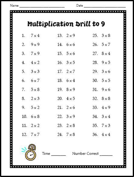 Best 25 Times Tables Test Ideas On 3 Times Best 25 Times Tables Worksheets Ideas On