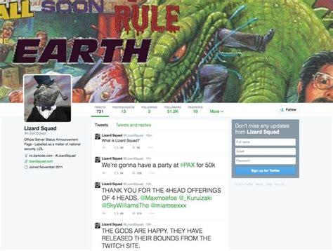 lizard squad twitter   product reviews net