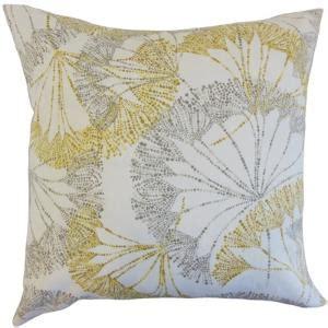 Wayfair Throw Pillows Yellow by Textured Yellow Floral Throw Pillow