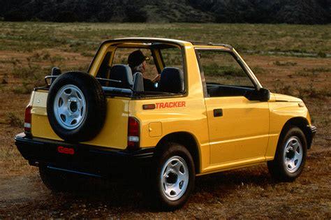 geo tracker 1990 98 geo chevrolet tracker consumer guide auto