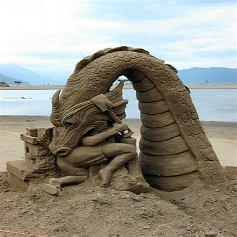 Top 10 Best And Most Famous Sand Sculptures In The World