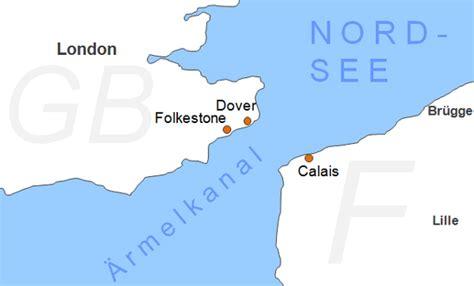 Fähren Nach England Karte