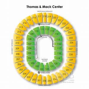 Unlv Rebels Basketball Seating Chart Thomas And Mack Center Tickets Thomas And Mack Center