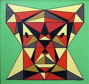 40 Aesthetic Geometric Abstract Art Paintings - Bored Art