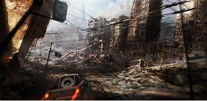 Apocalyptic Motorstorm Apocalypse Concept Wallpapers Ruins Ravaged