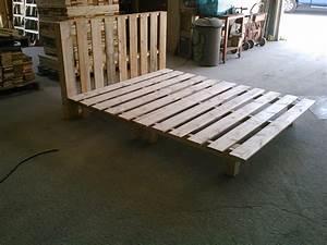 Acheter Meuble En Palette Bois : tourdissant comment fabriquer un lit avec des palettes et ~ Premium-room.com Idées de Décoration