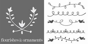 Flourishes And Ornaments Font