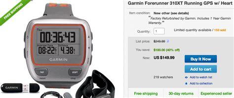 Garmin 310xt Best Price Deals On Garmin Gps Units Running With