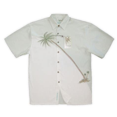 bamboo cay bamboo cay shirt hurricane palm soft green