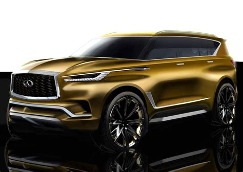 2019 Infiniti Qx80 Engine High Resolution Wallpaper Best
