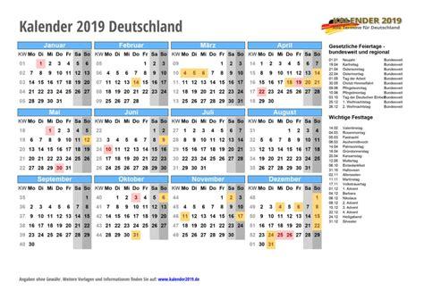 kalender mit feiertagen ferien