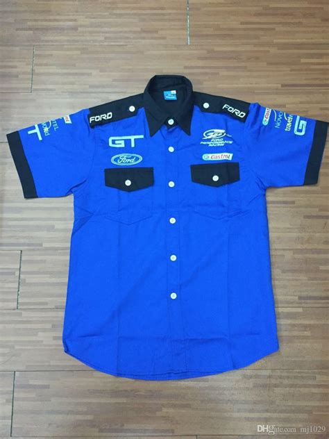 logo embroidery  ford gt performance racing team