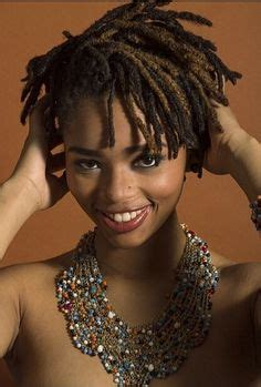 short loc styles images natural hair short