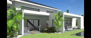 Maison D U0026 39 Architecte Contemporaine  U00e0 Tuiles Noires Et