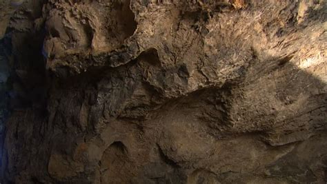 Cave Wall with Daylight Outside Stock Footage Video (100% ...