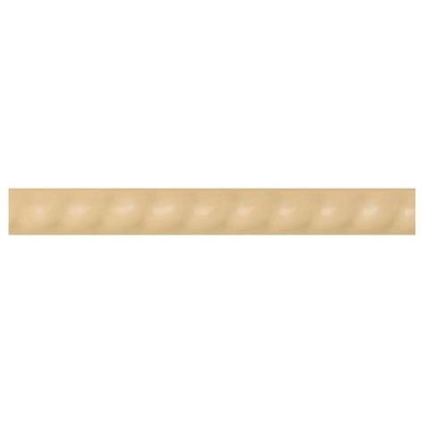 home depot wall tile trim daltile liners luminary gold 1 in x 6 in ceramic rope